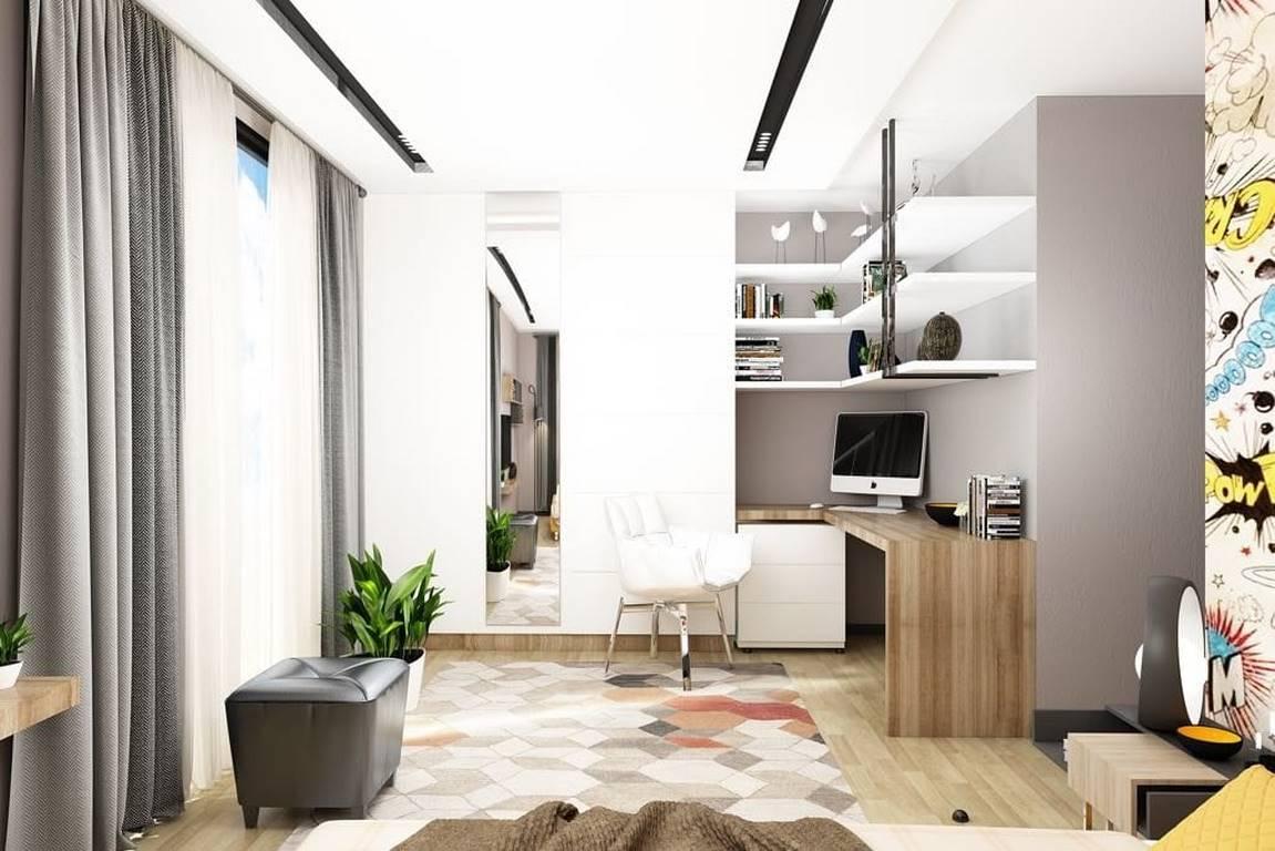 Acıbadem Akasya Villa genç odası tasarımı