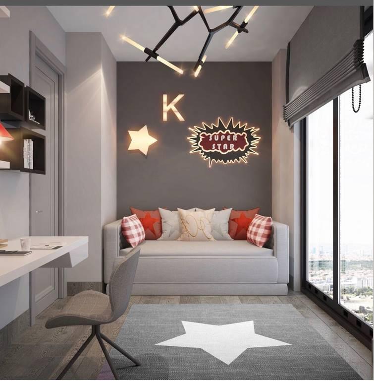 Acıbadem Akasya Villa çalışma odası tasarımı