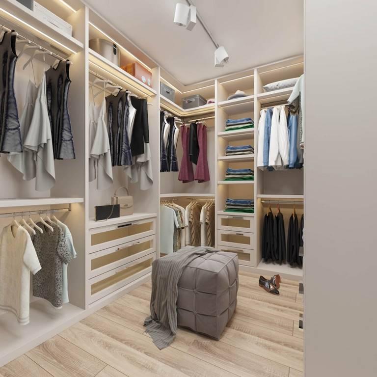 Acıbadem Akasya Villa giyinme odası iç mimari