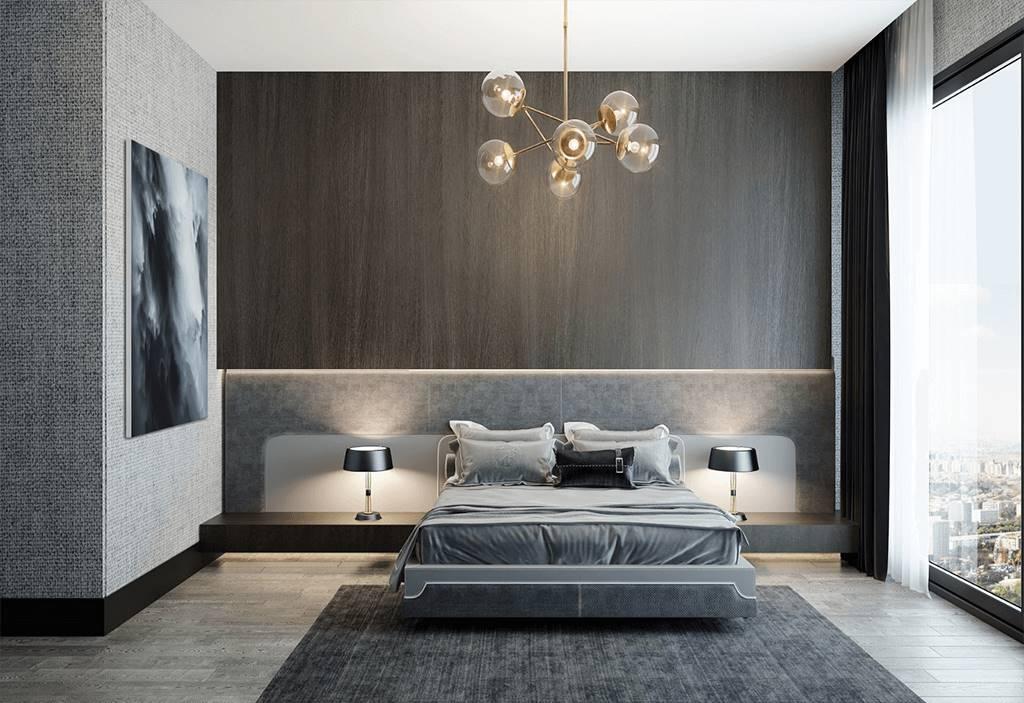 Bağdat Caddesi yatak odası iç mimar tasarımı