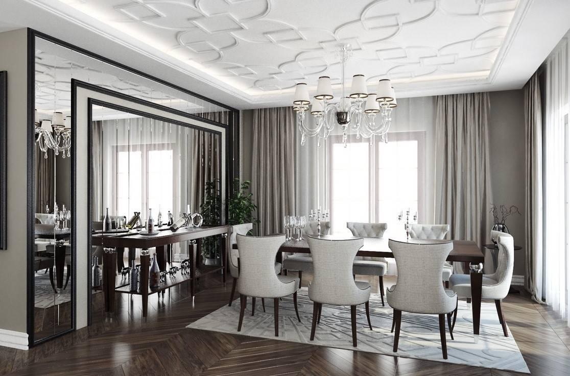 Bayramoğlu Villa yemek odası iç mimar tasarımı