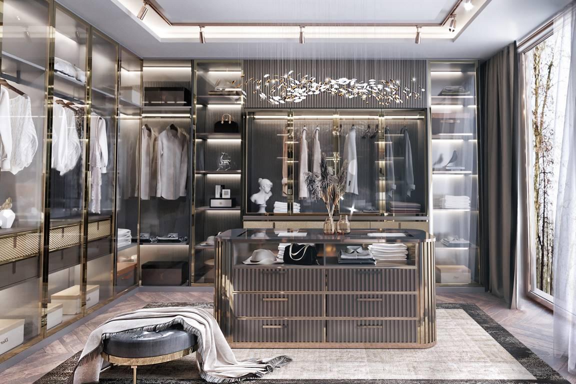 Berlin Daire giyinme odası tasarımı