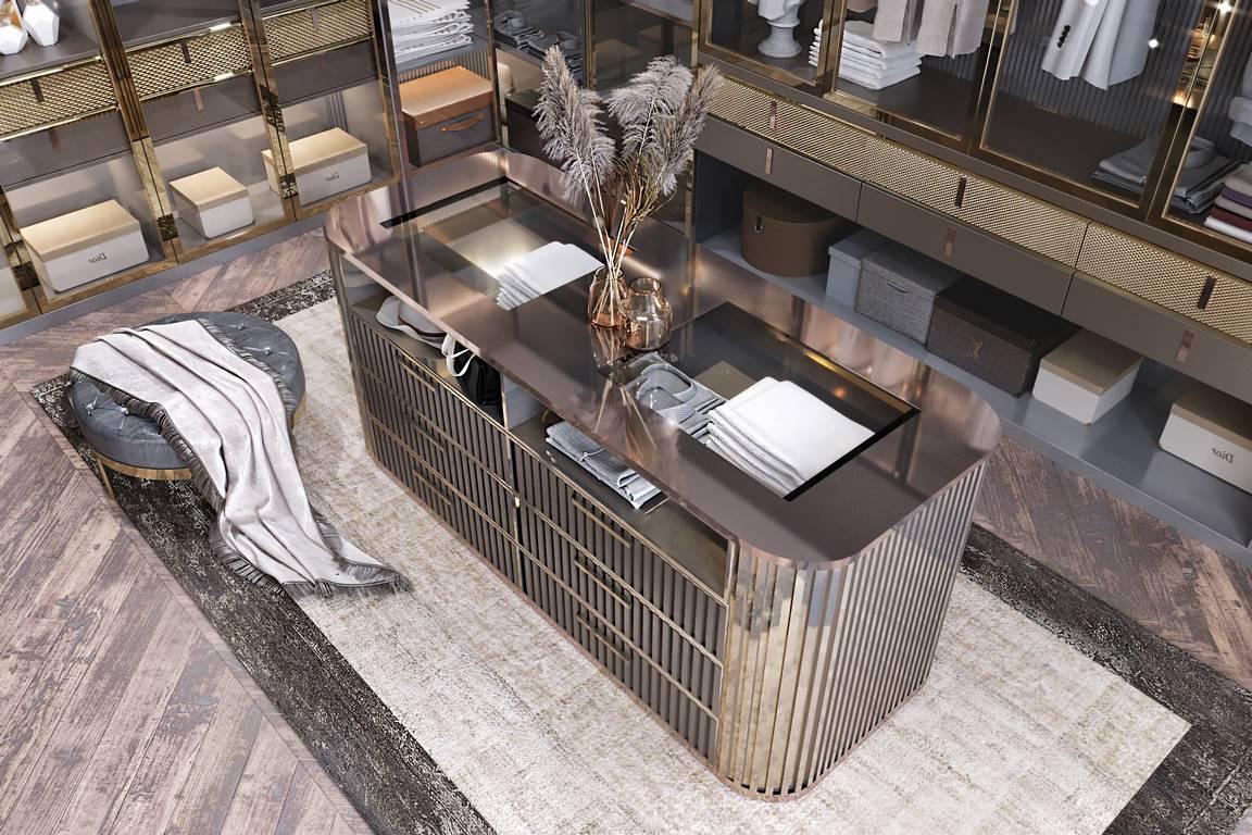 Berlin Daire giyinme odası iç mimari tasarımı