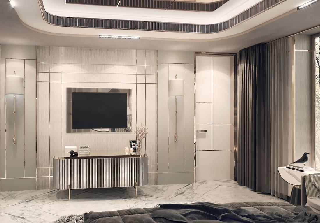 Berlin Daire yatak odası tasarımı