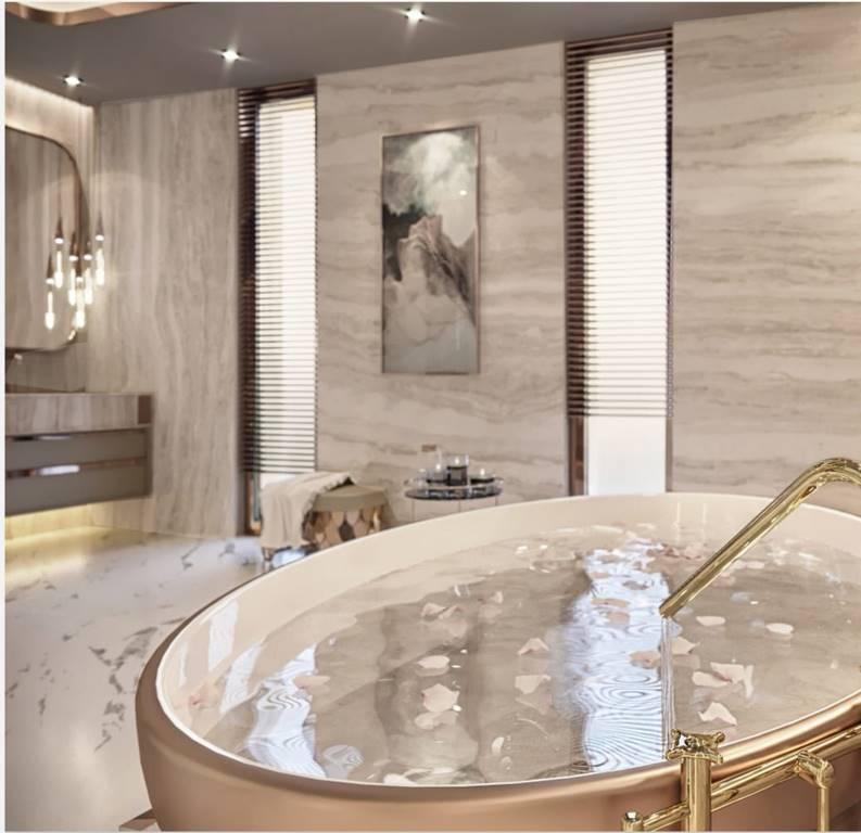 Berlin Daire banyo tasarımı