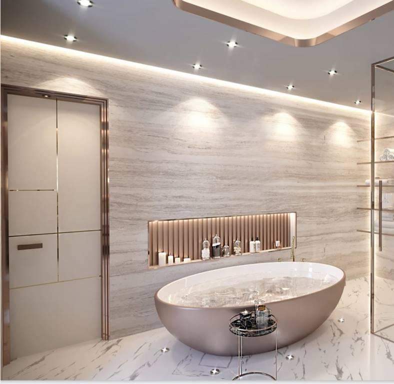 Berlin Daire banyo mimari tasarımı