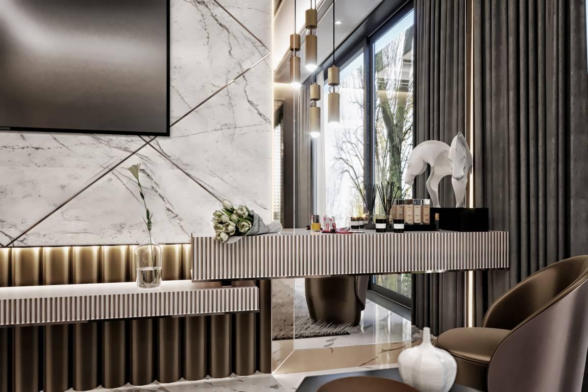 Berlin Daire Oturma Odası Tasarımı