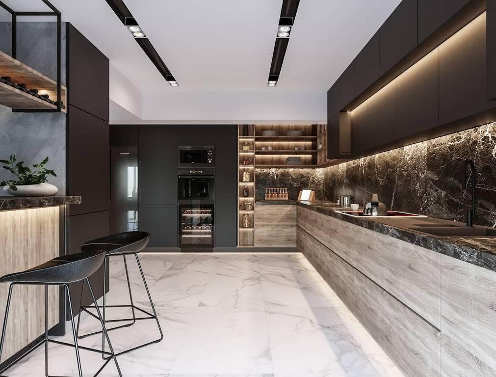 Beykoz Hisar Evleri Villa mutfak tasarımı