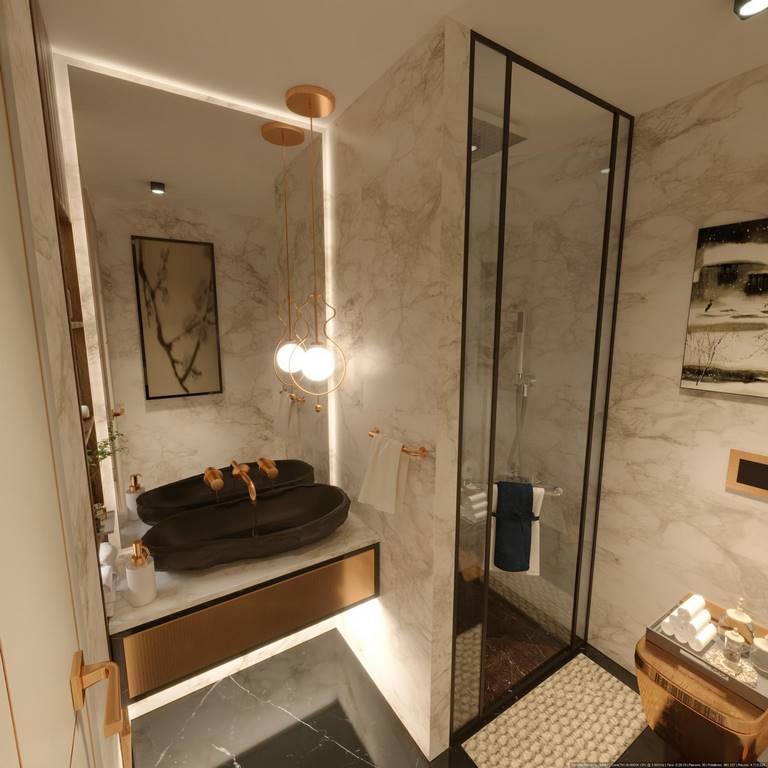 Beykoz Hisar Evleri Villa banyo tasarımı