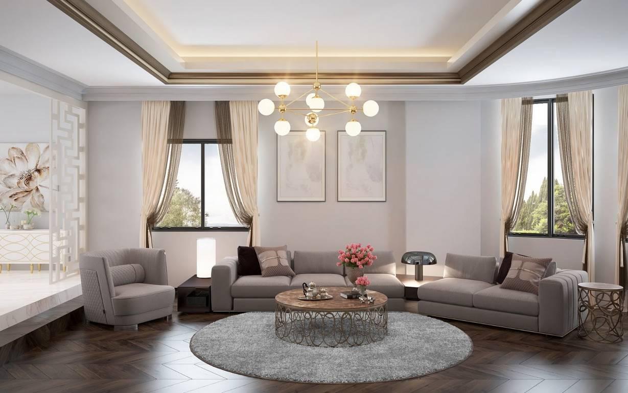 Bulgaristan Villa salon dekorasyonu