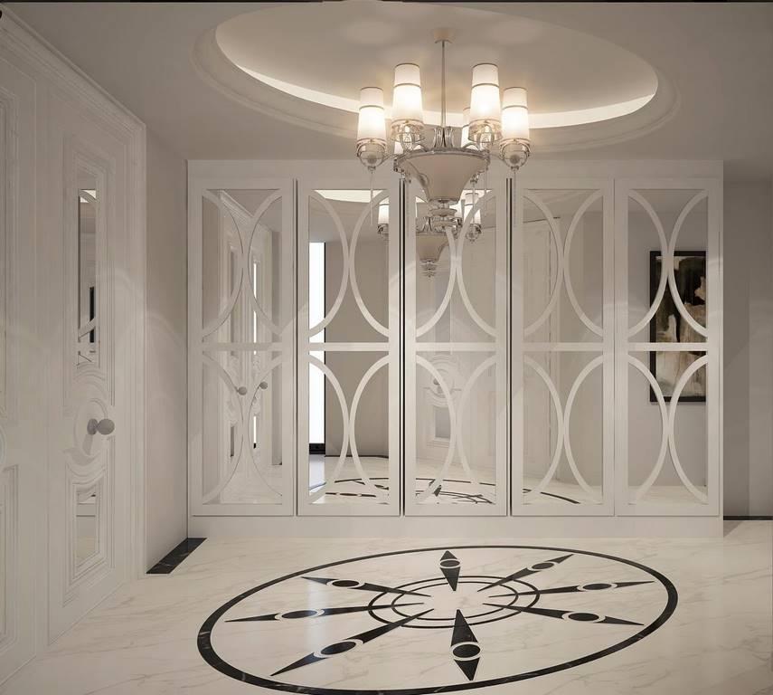 Bulgaristan Villa giyinme odası tasarımı