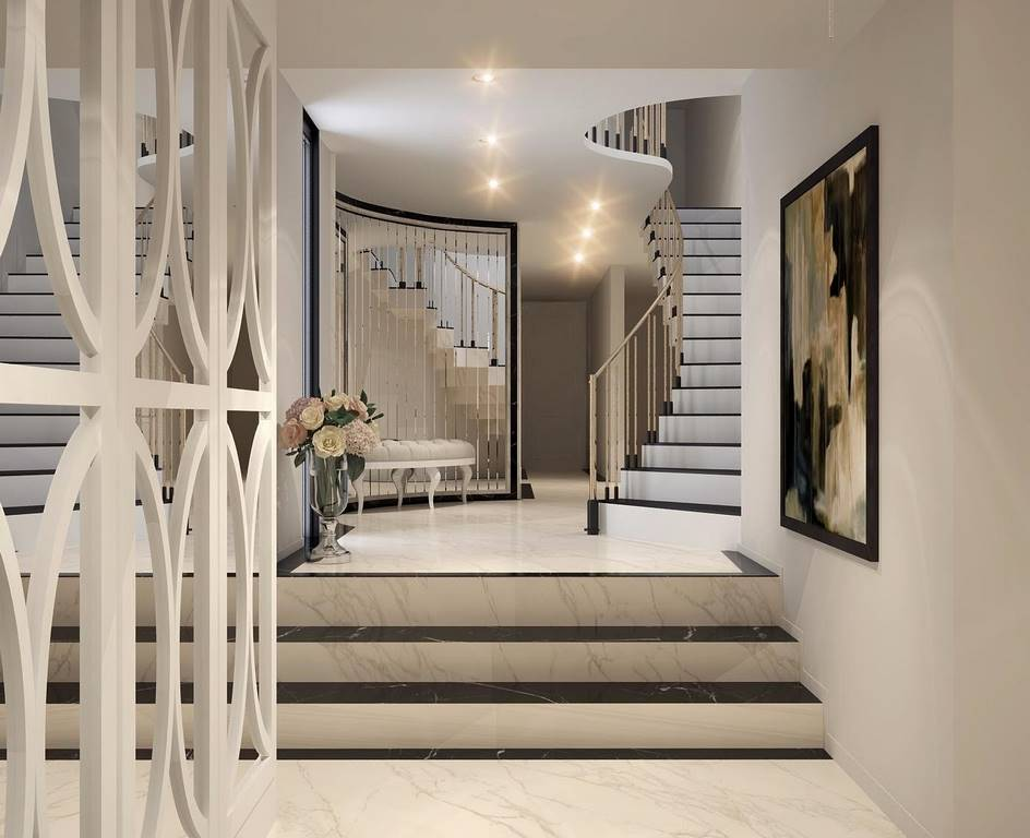 Bulgaristan Villa merdiven tasarımı