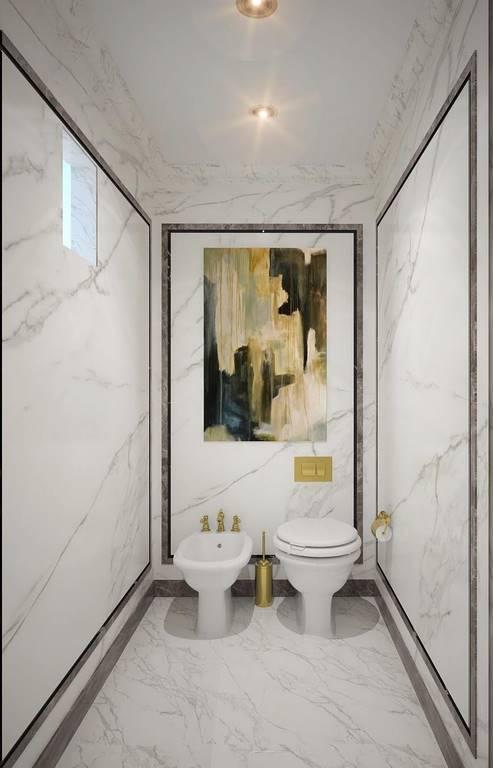 Bulgaristan Villa banyo dekorasyonu