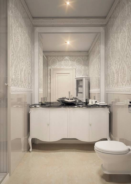Bulgaristan Villa banyo tasarımı
