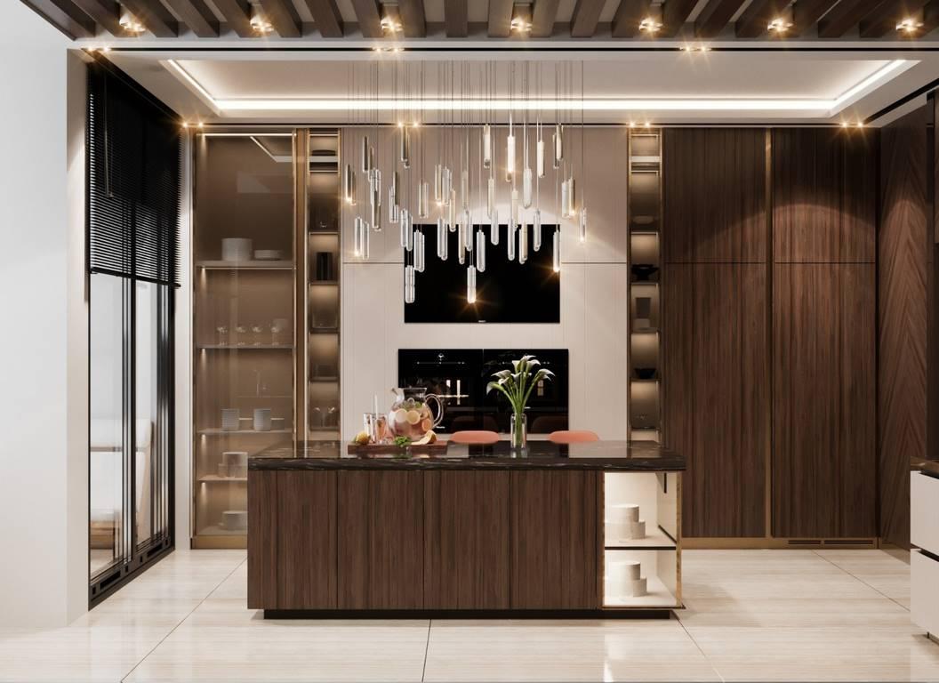 Demirlipark Evleri Residence mutfak tasarımı