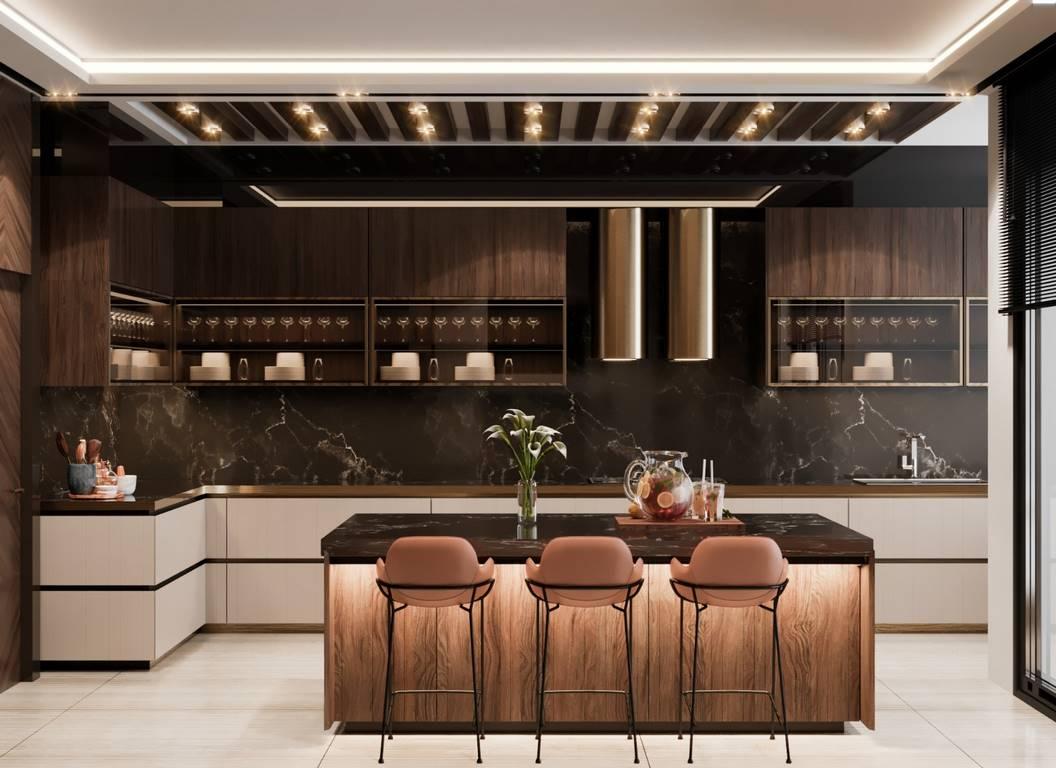 Demirlipark Evleri Residence mutfak iç mimari