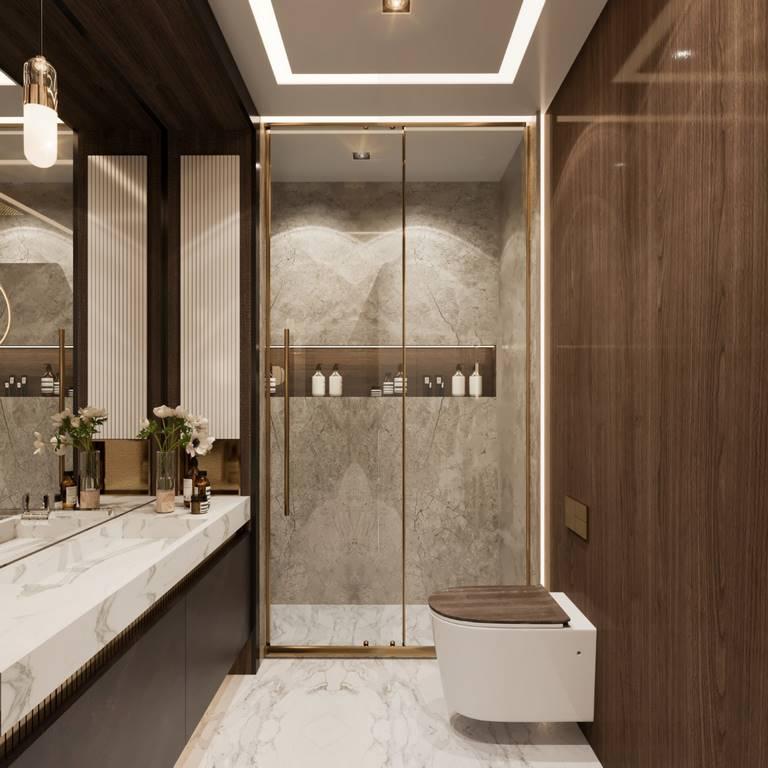Demirlipark Evleri Residence banyo tasarımı