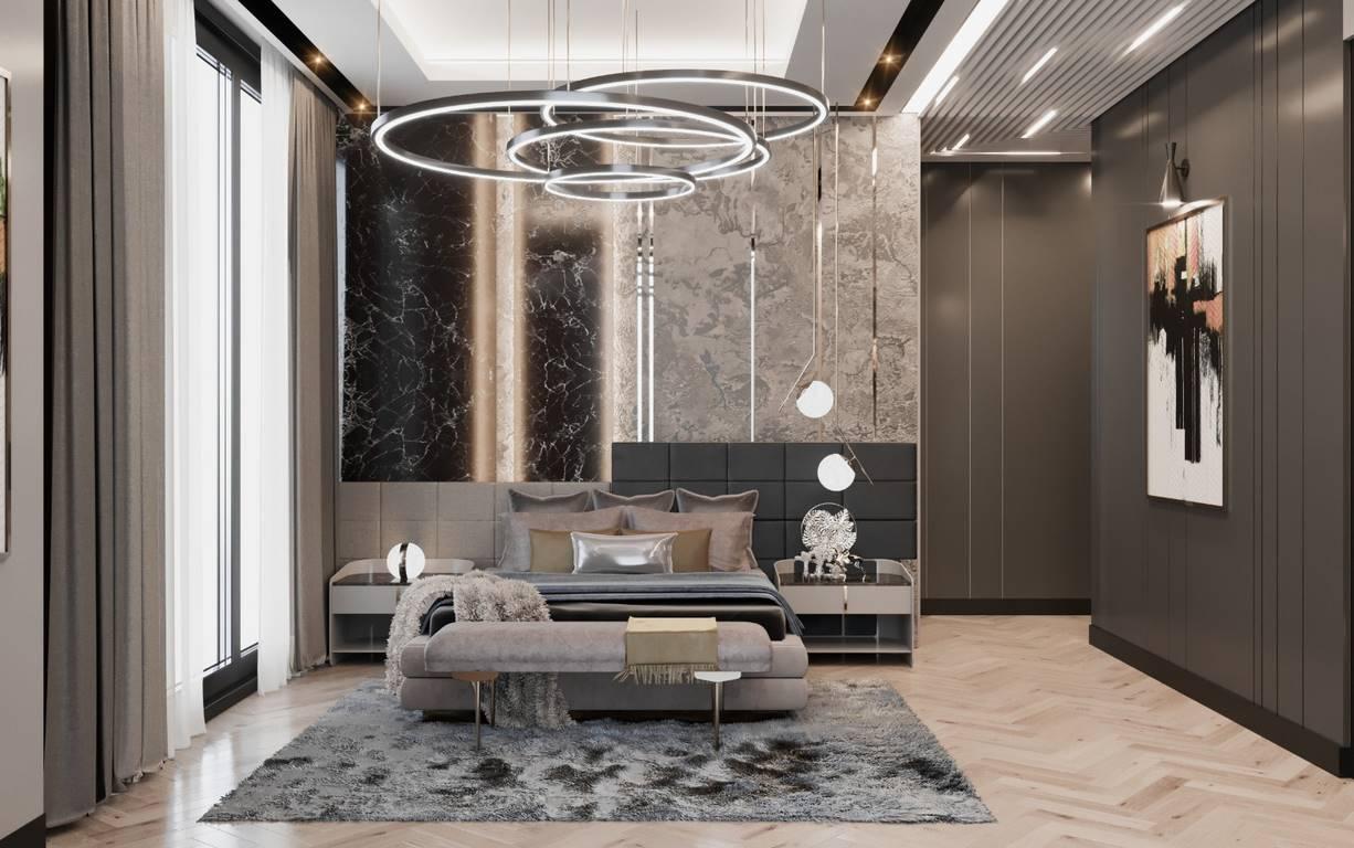 Demirlipark Evleri yatak odası tasarımı