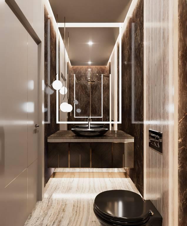 Demirlipark Evleri banyo tasarımı