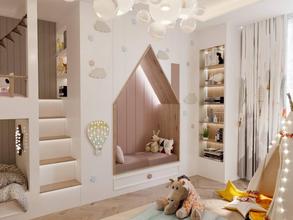 Demirlipark Evleri çocuk odası tasarımı