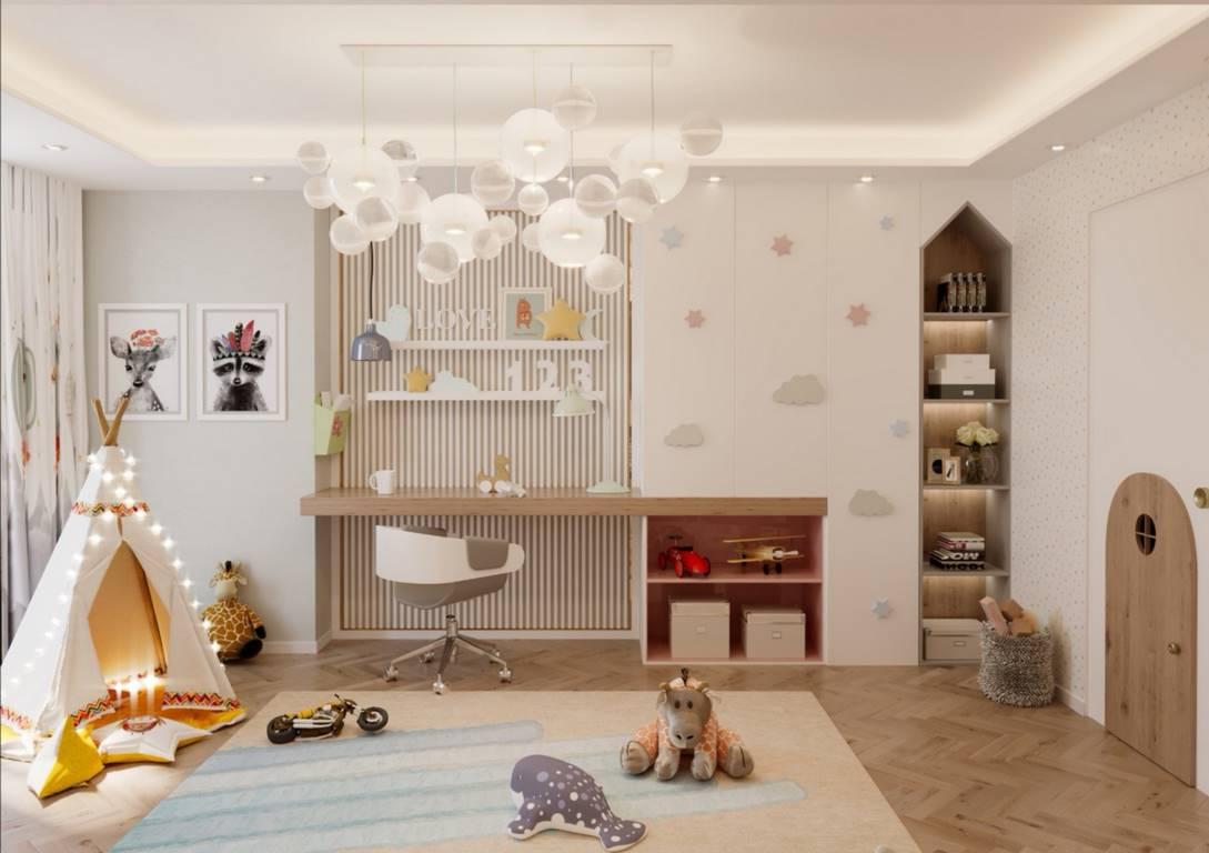 Demirlipark Evleri çocuk odası dekorasyonu