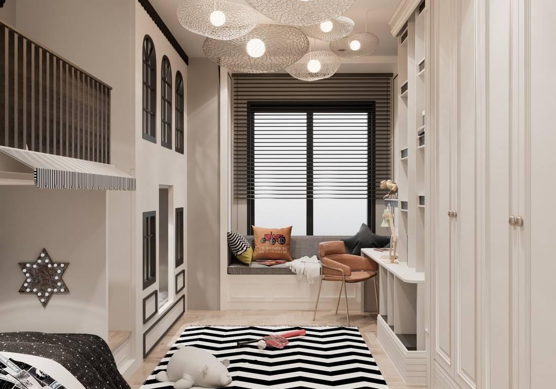 Demirlipark Evleri genç odası tasarımı