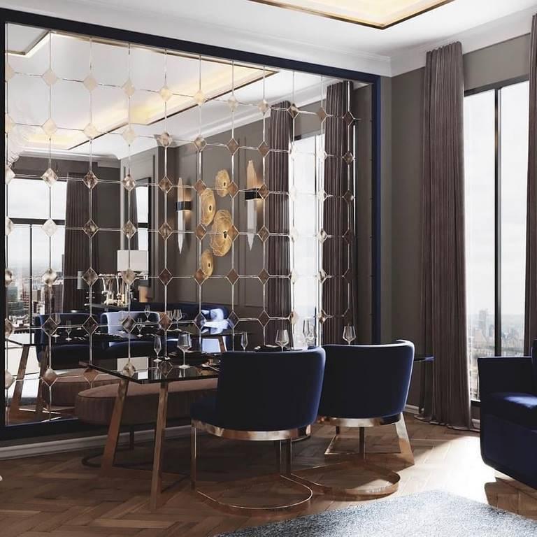 Emaar Square Residences yemek odası tasarımı