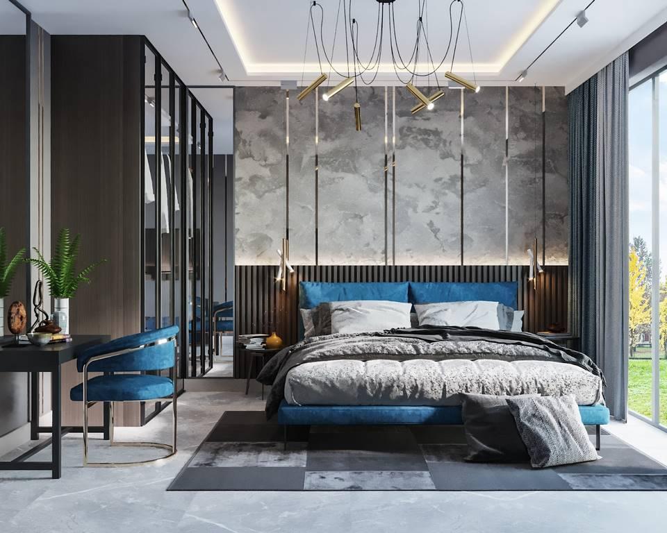 Emaar Square Residences yatak odası tasarımı