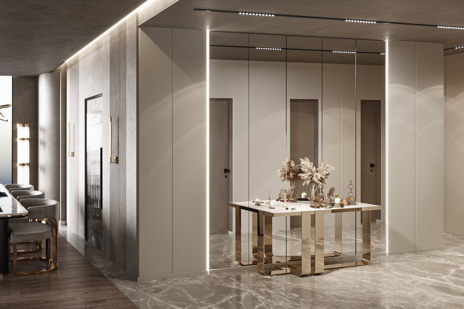 Emaar Residence hol tasarımı