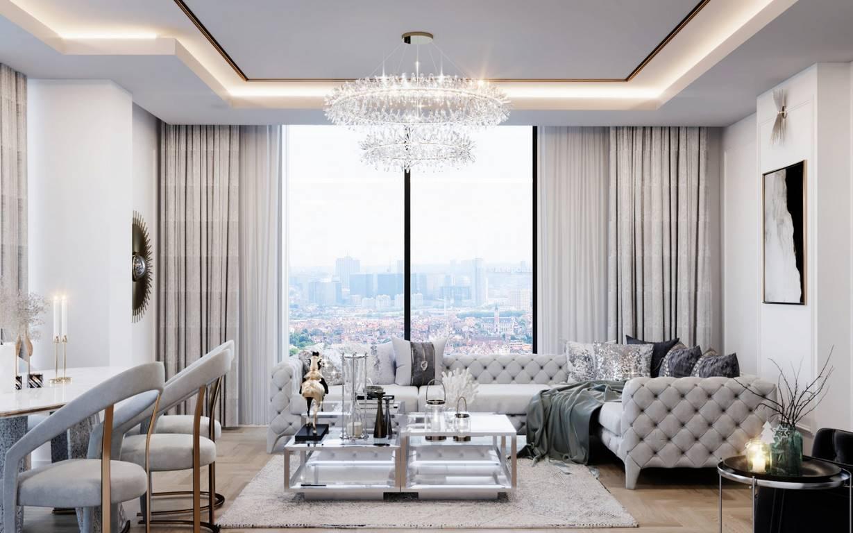 Erenköy Residence iç mimar tasarımı