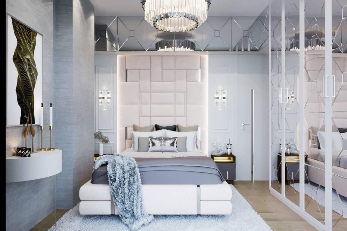 Erenköy Residence yatak odası iç mimari