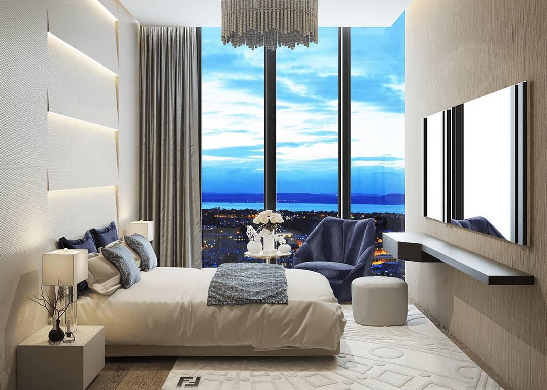 Garanti Koza Evleri yatak odası tasarımı