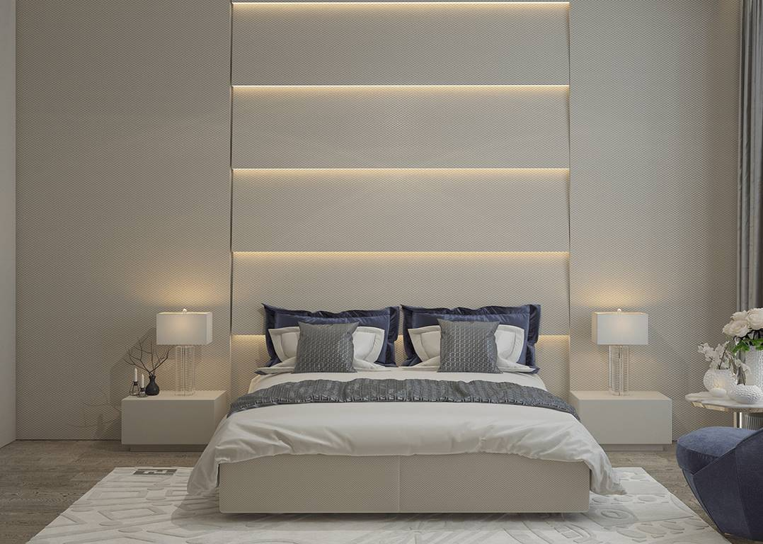 Garanti Koza Evleri yatak odası dekorasyonu