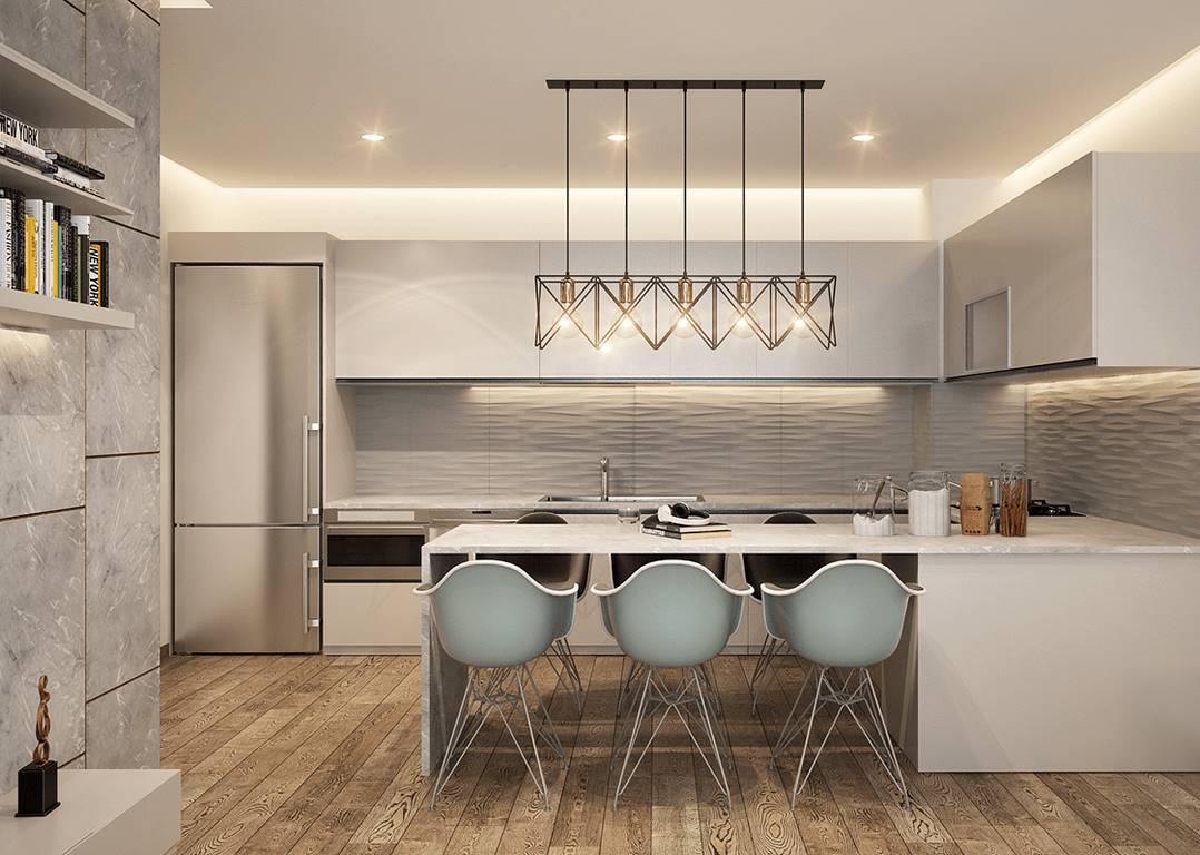 Garanti Koza Evleri mutfak tasarımı
