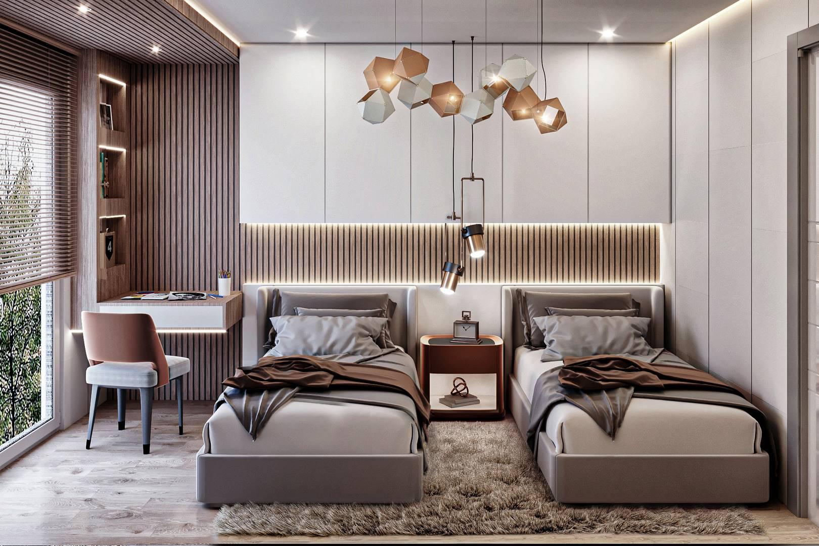 Güzelce bizim evler yatak odası dekorasyonu