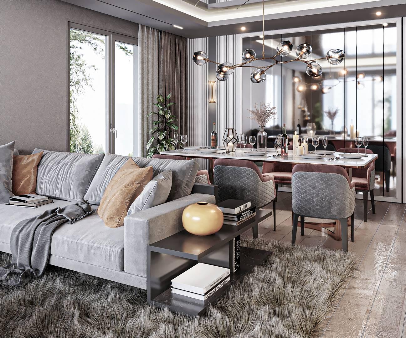 Güzelce Bizim Evler Salon Tasarımı