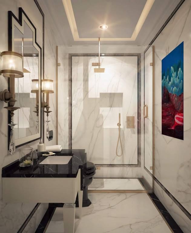Kartal Daire İstanbul banyo tasarımı