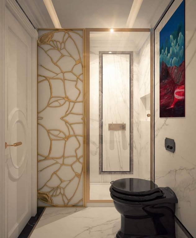 Kartal Daire İstanbul banyo dekorasyonu