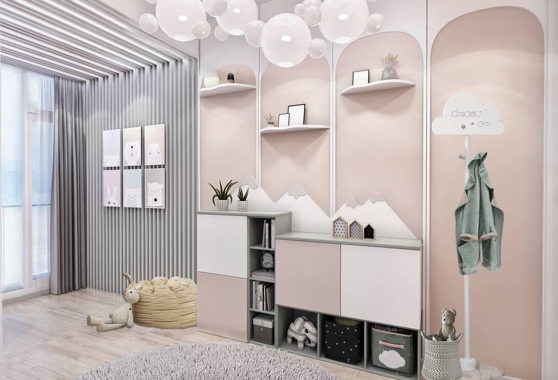 Kartal Marina Residence Çocuk odası tasarımı