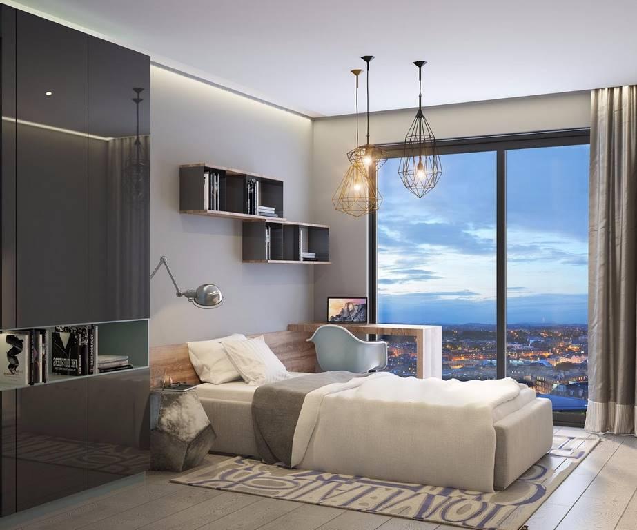 Kartal Marina İstanbul yatak odası tasarımı