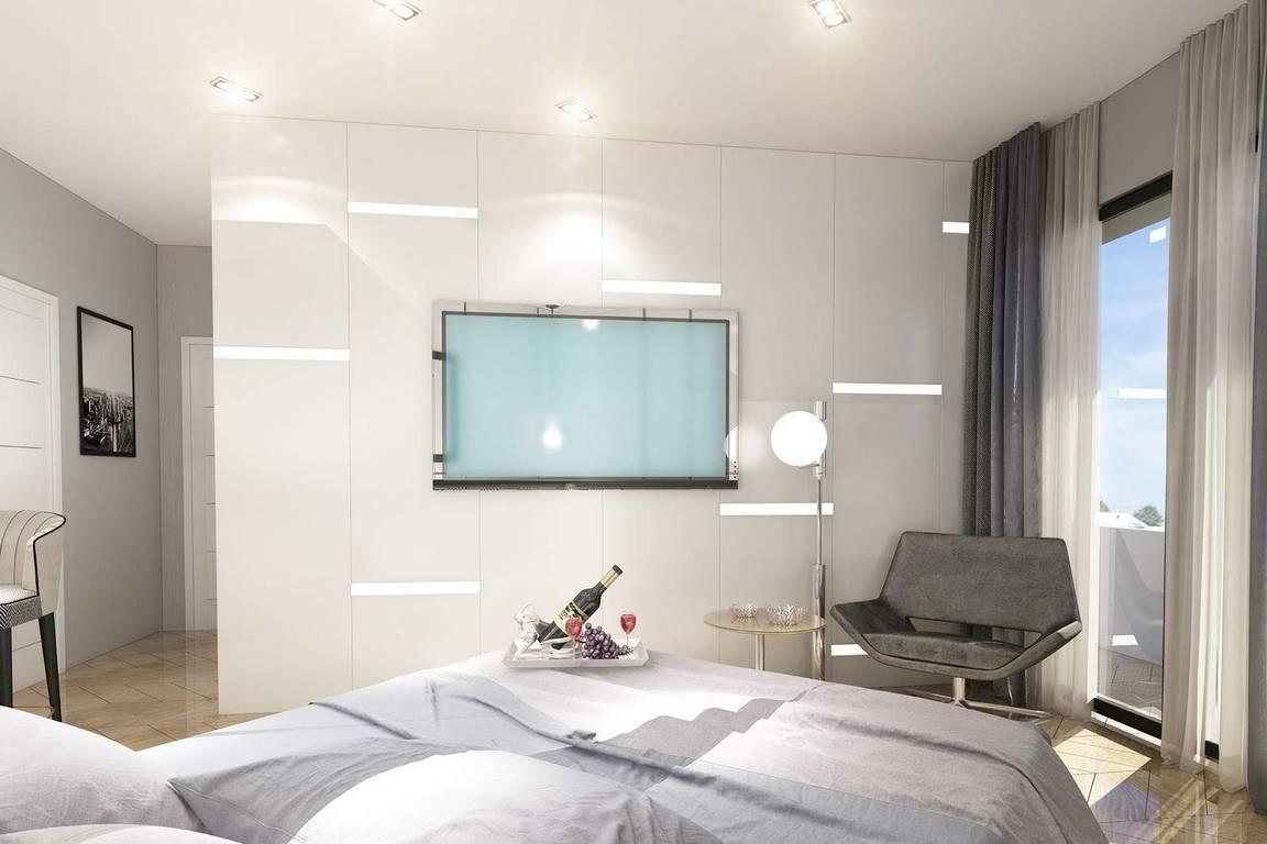 Kartal Marina İstanbul yatak odası dekorasyonu