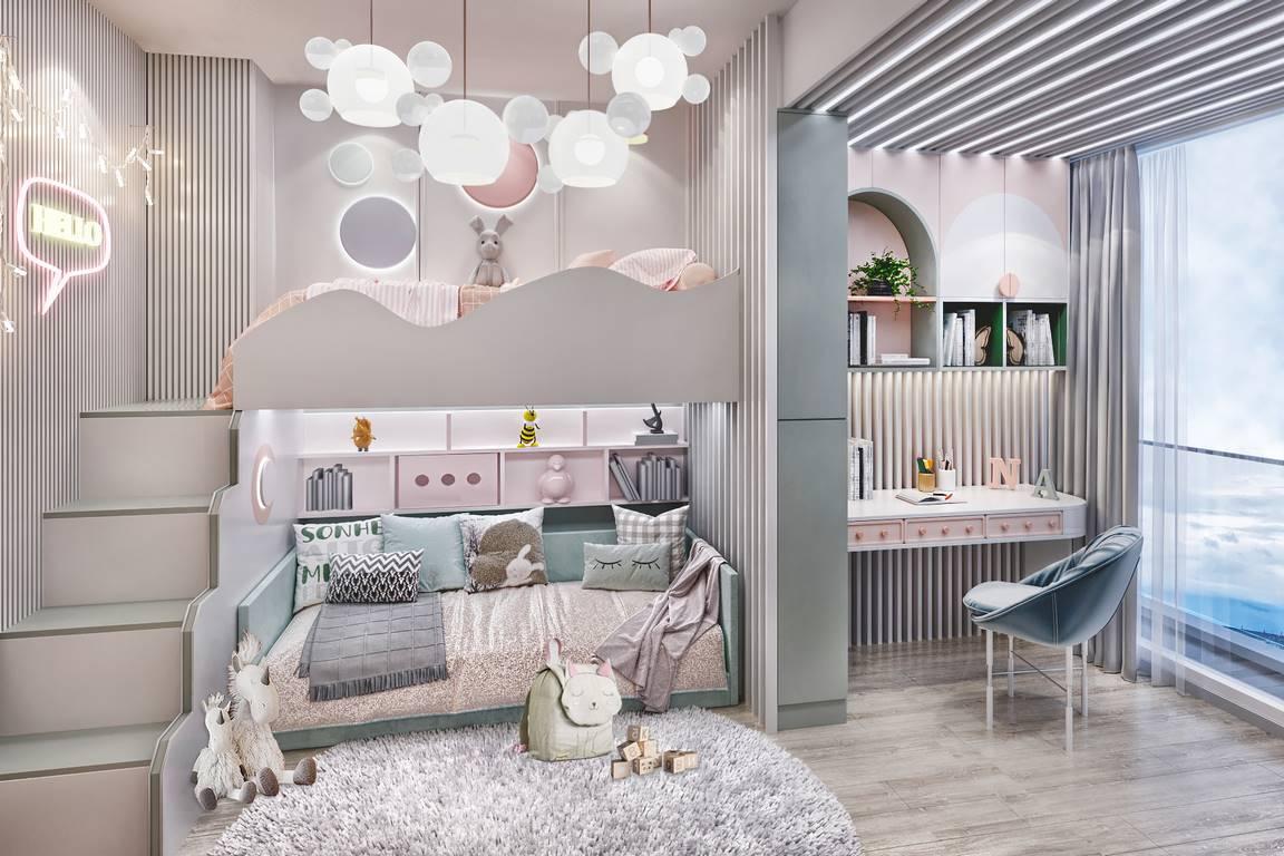 Kartal Marina Residence Çocuk odası dekorasyonu
