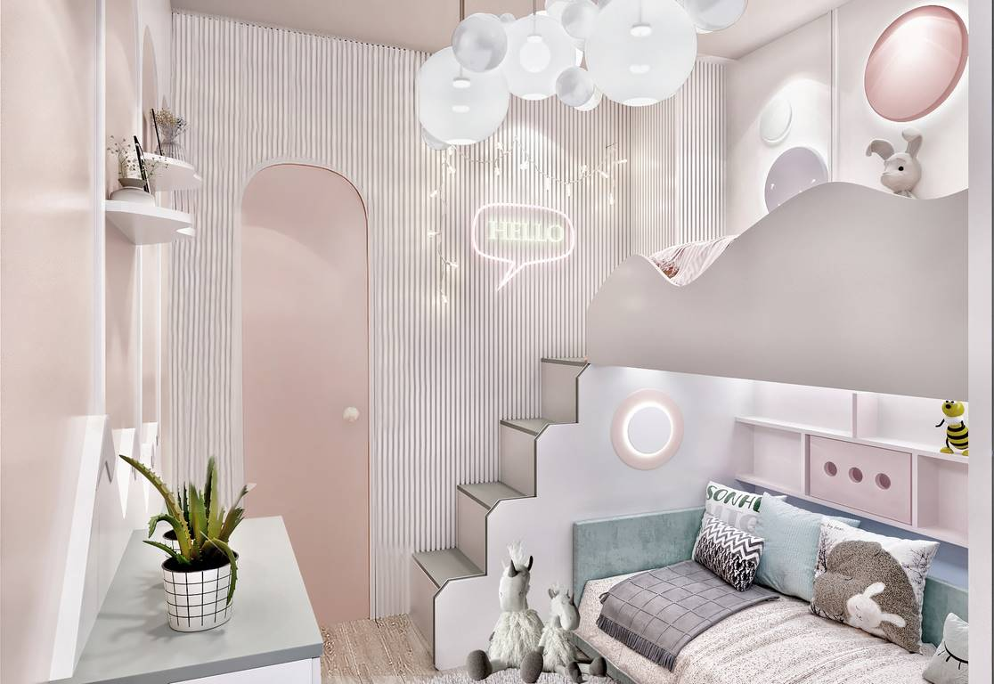 Kartal Marina Residence Çocuk odası iç mimari