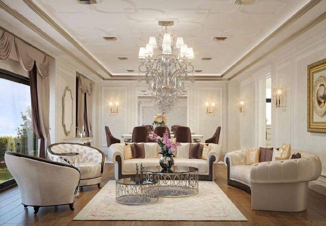 Florya Malikane salon iç mimari