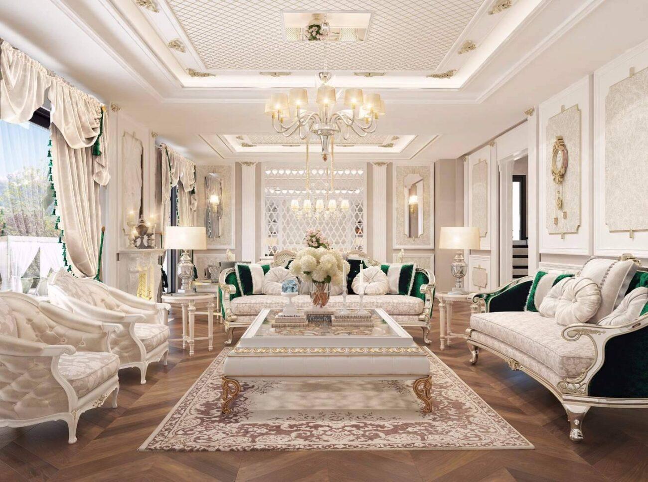 Malikane salon tasarımı