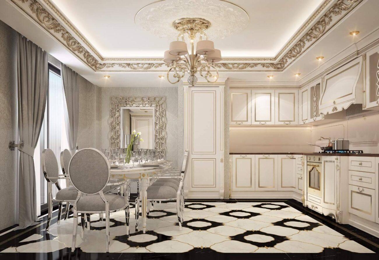 Malikane yemek odası tasarımı