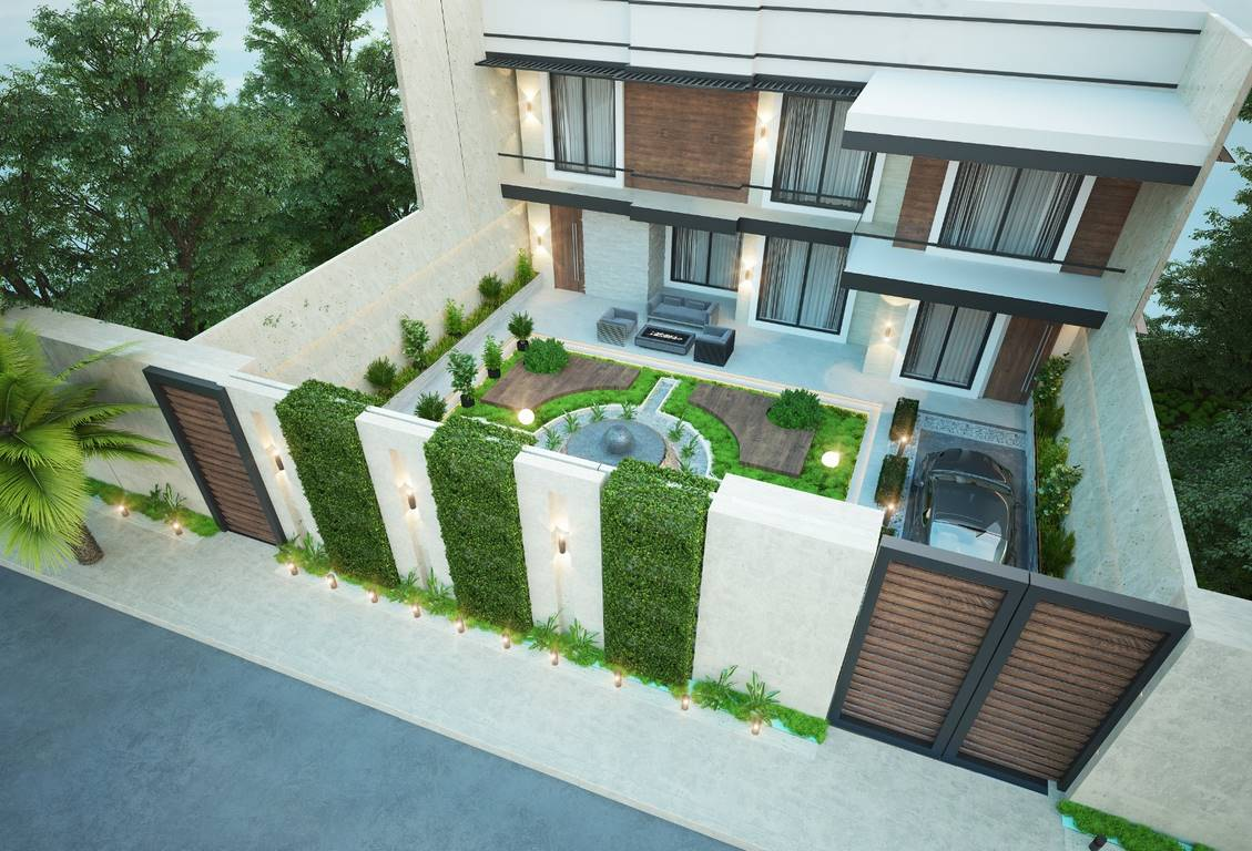 Necef Malikane dış cephe mimari tasarımı