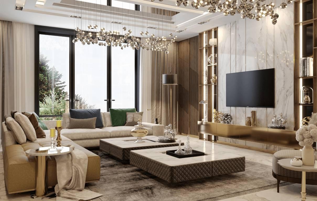 Necef Malikane salon tasarımı