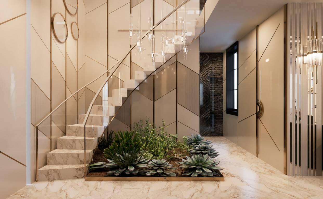 Necef Malikane merdiven tasarımı
