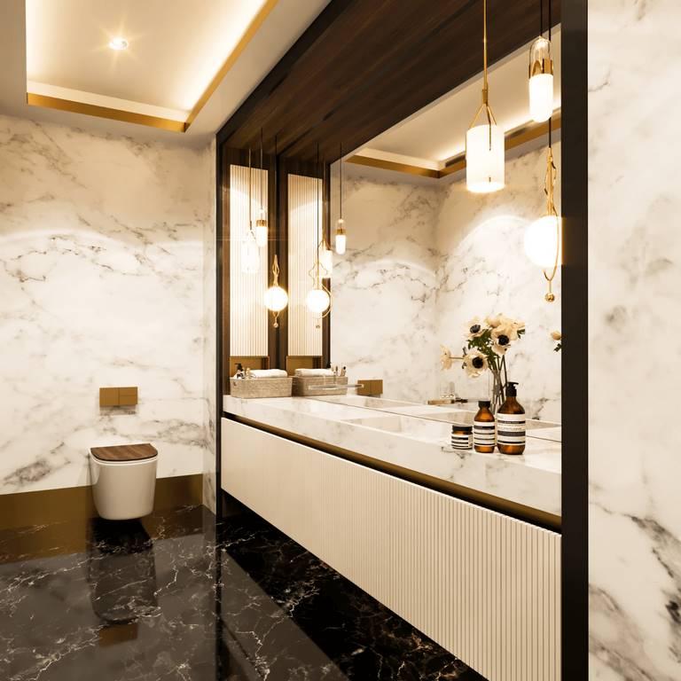 Necef Malikane banyo tasarımı